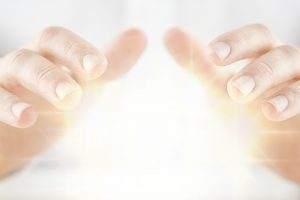 spiritual protection healing hands