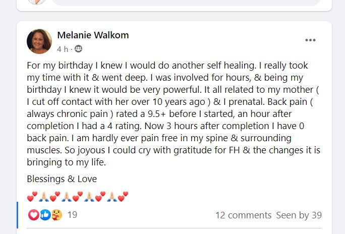 spiritual healing courses onlline