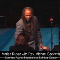 Michael Beckwith calls Marisa