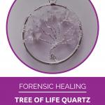 clear quartz healing crystal