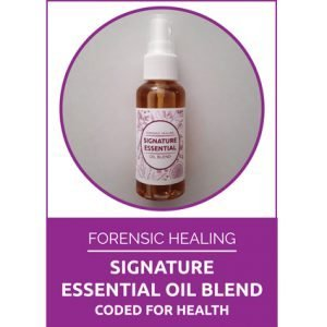 Forensic Healing Signature Oil Blend Coded for Health