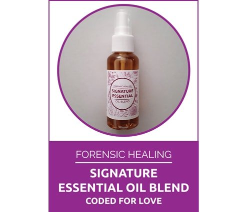 Forensic Healing Signature Oil Blend Coded for Love