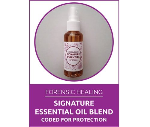 Forensic Healing Signature Oil Blend Coded for Protection