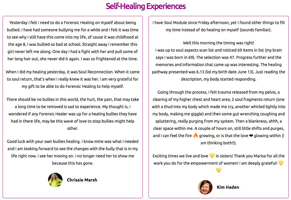 fh self healing